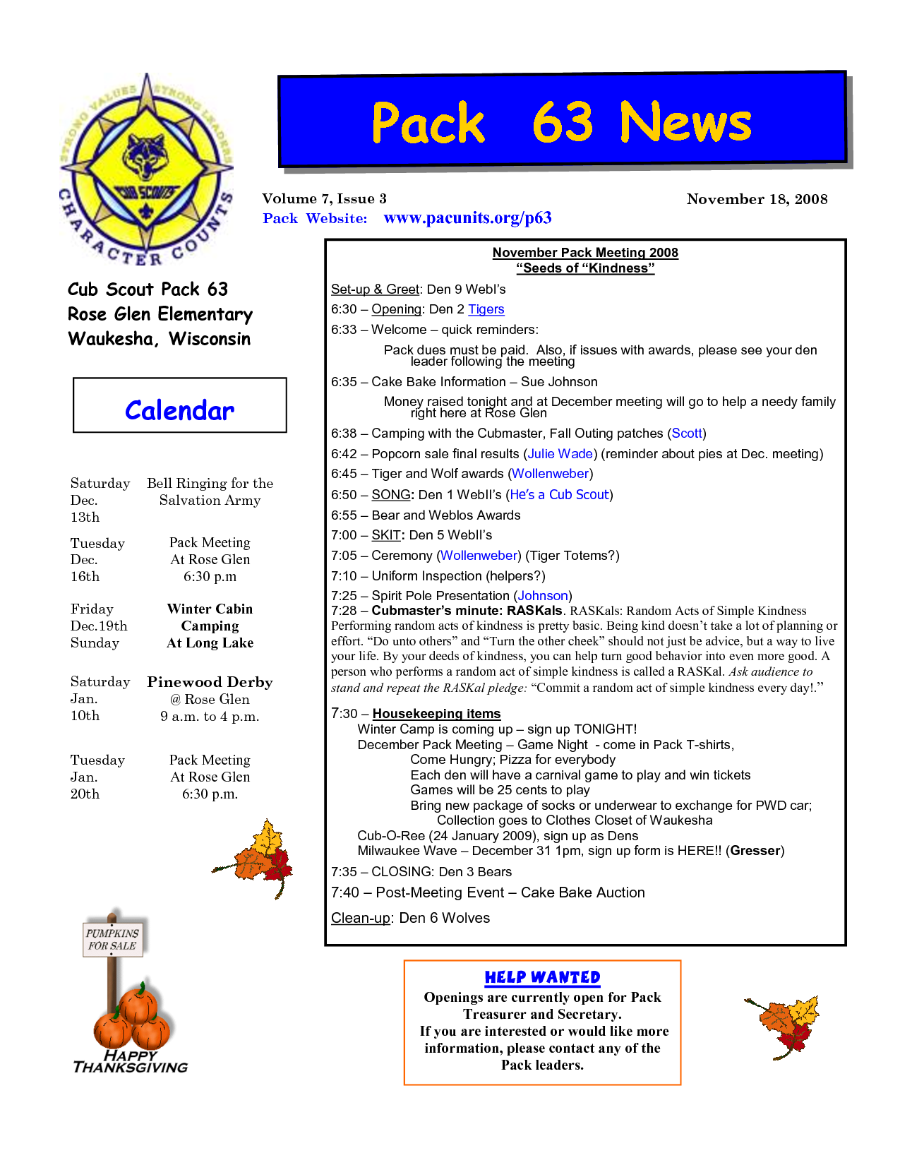 Cub Scout Newsletter Template Google Search Scouts Pinterest - Free PNG Cub Scouts