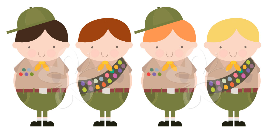 Free Girl Scout Clip Art - Free PNG Cub Scouts