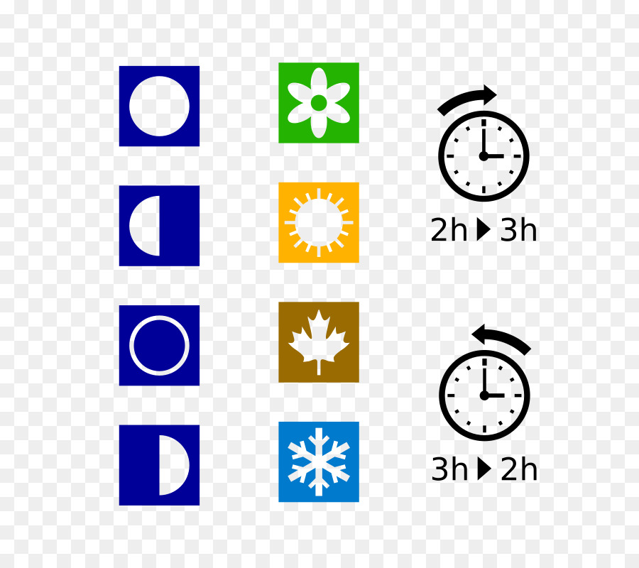 Symbol Season Clip art - Daylight Saving Time Clipart - Free PNG Daylight Savings Time