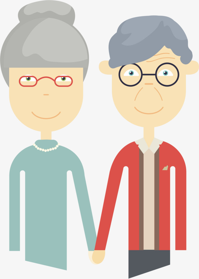 Elderly couples, Elderly, Love, Conjugal Love PNG and Vector - Free PNG Elderly