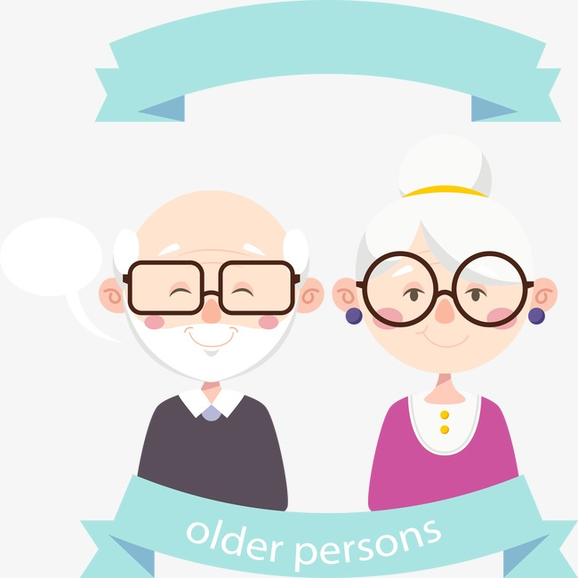 Vector old man old lady, Elderly, Cartoon Characters, Glasses PNG and Vector - Free PNG Elderly