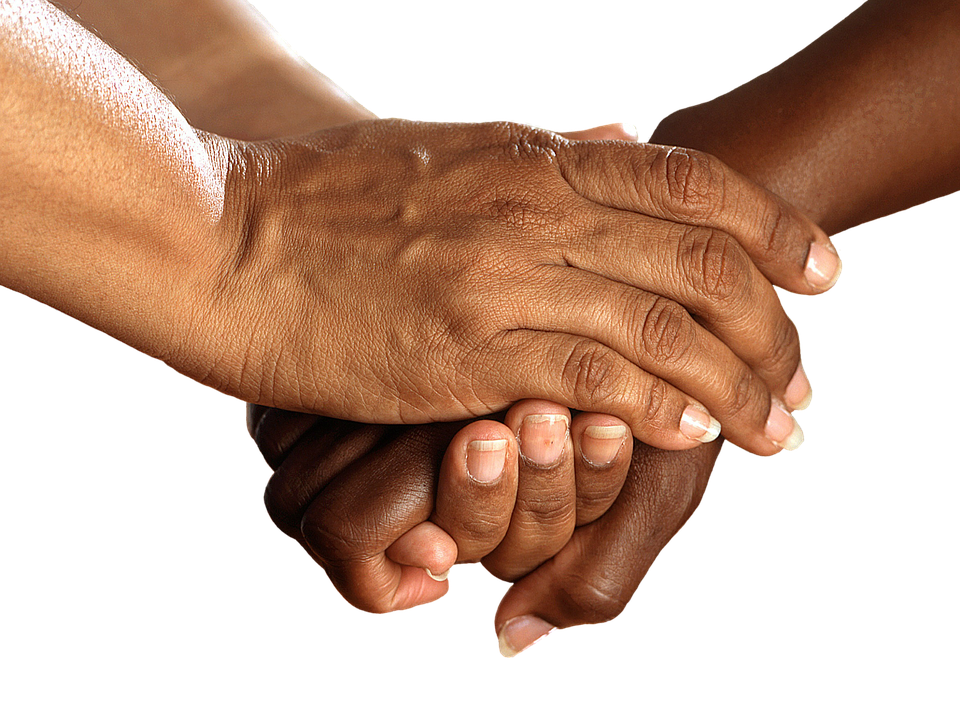 hands shake encouragement together help - Free PNG Encouragement