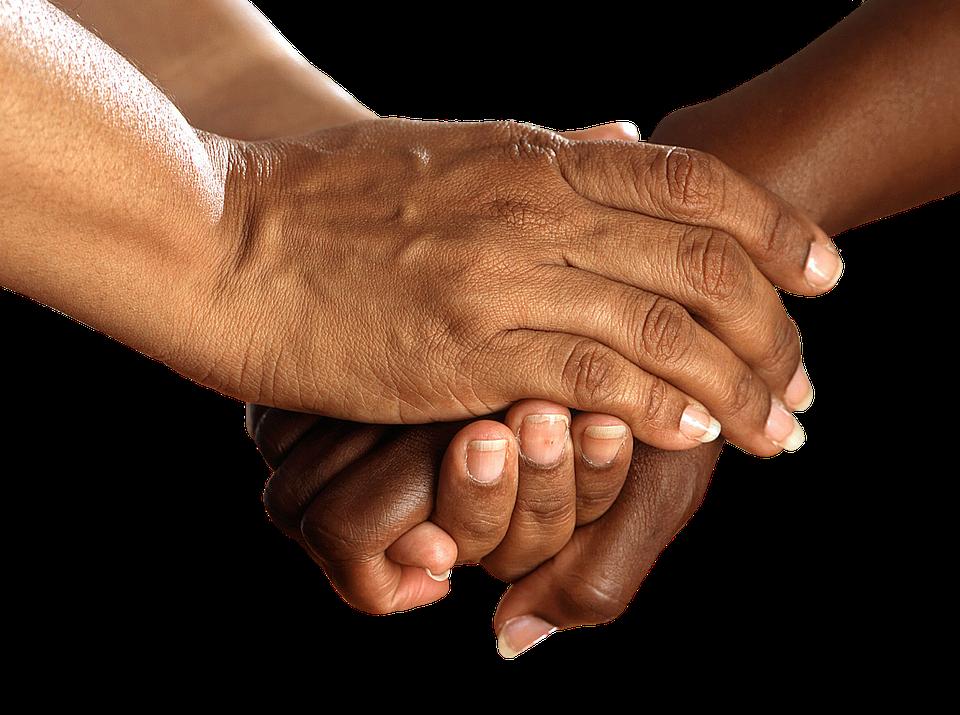 Hands Shake Encouragement Together Help - Free PNG Encouragement