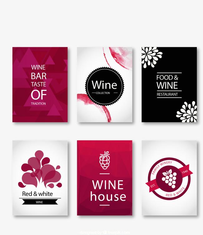 6 fabulous wine card vector material, Creative Wine, Wine Card, Creative  Cards Free PNG and Vector - Free PNG Fabulous