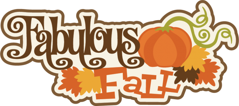 Fabulous Fall SVG scrapbook title fall svg cut files autumn svg files free  svg cuts - Free PNG Fabulous