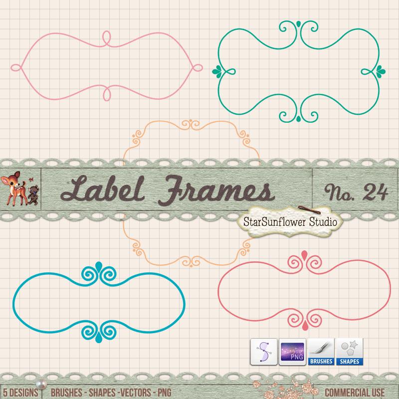 Label Frames - Free PNG Fabulous