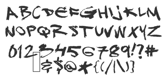 25 Free Graffiti Fonts For Your Artwork - Free PNG Fonts