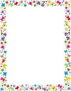 Free butterfly border templates including printable border paper and clip  art versions. File formats include GIF, JPG, PDF, and PNG. Vector images  are also PlusPng.com  - Free PNG Frames And Page Borders
