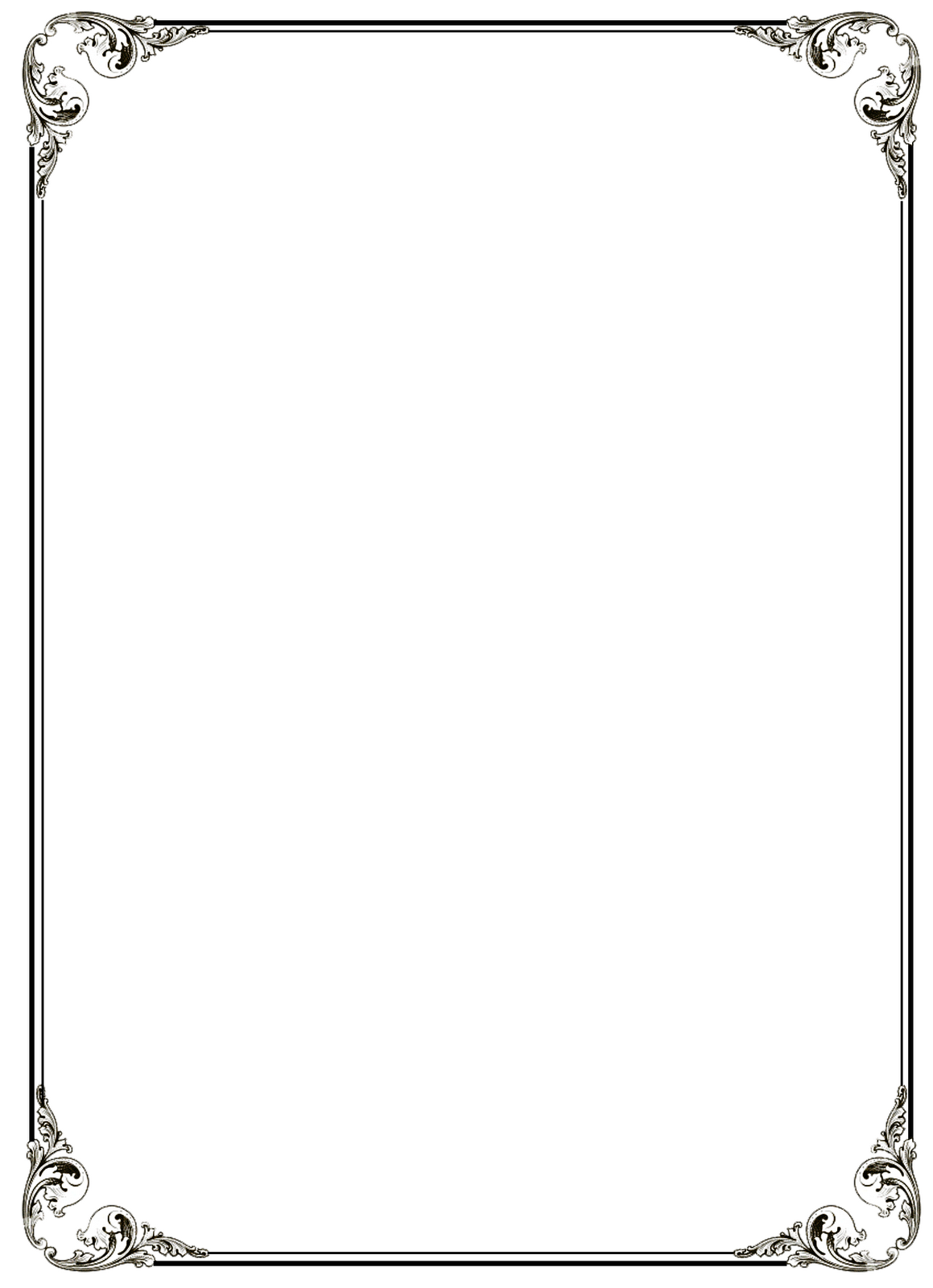 Free PNG Frames And Page Borders Transparent Frames And Page Borders ...