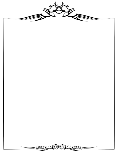 Free PNG Frames And Page Borders - 169704