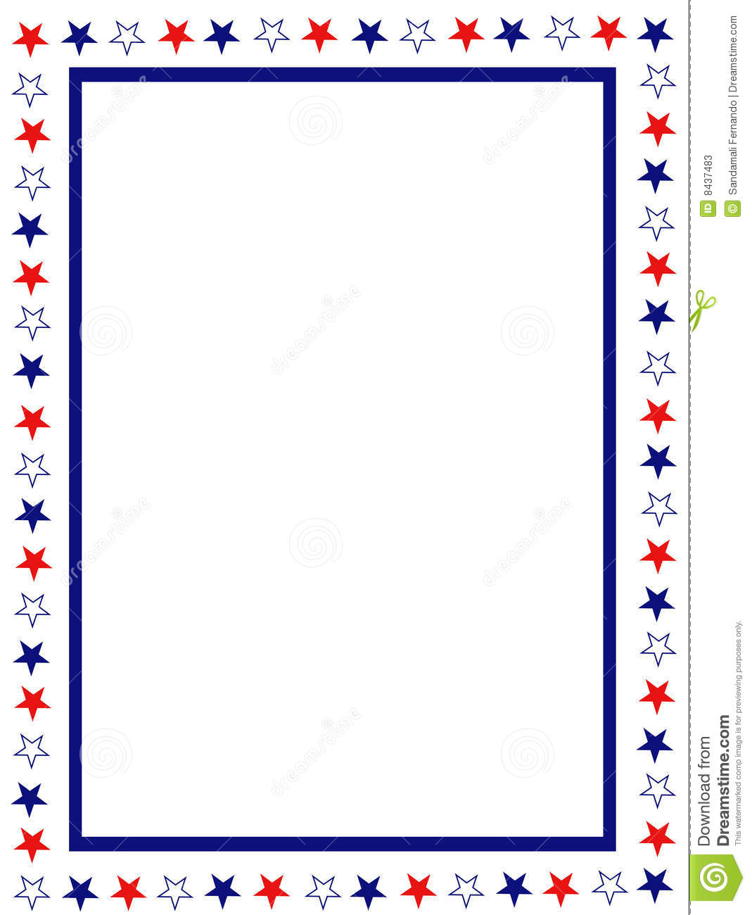 free patriotic page borders blue and red patriotic stars stripes page border frame design