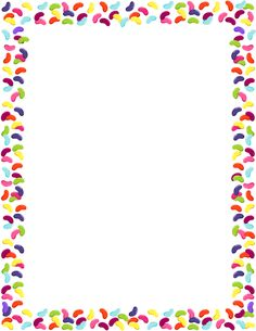 Page border featuring jelly beans. Free downloads at http://pageborders pluspng.com - Free PNG Frames And Page Borders
