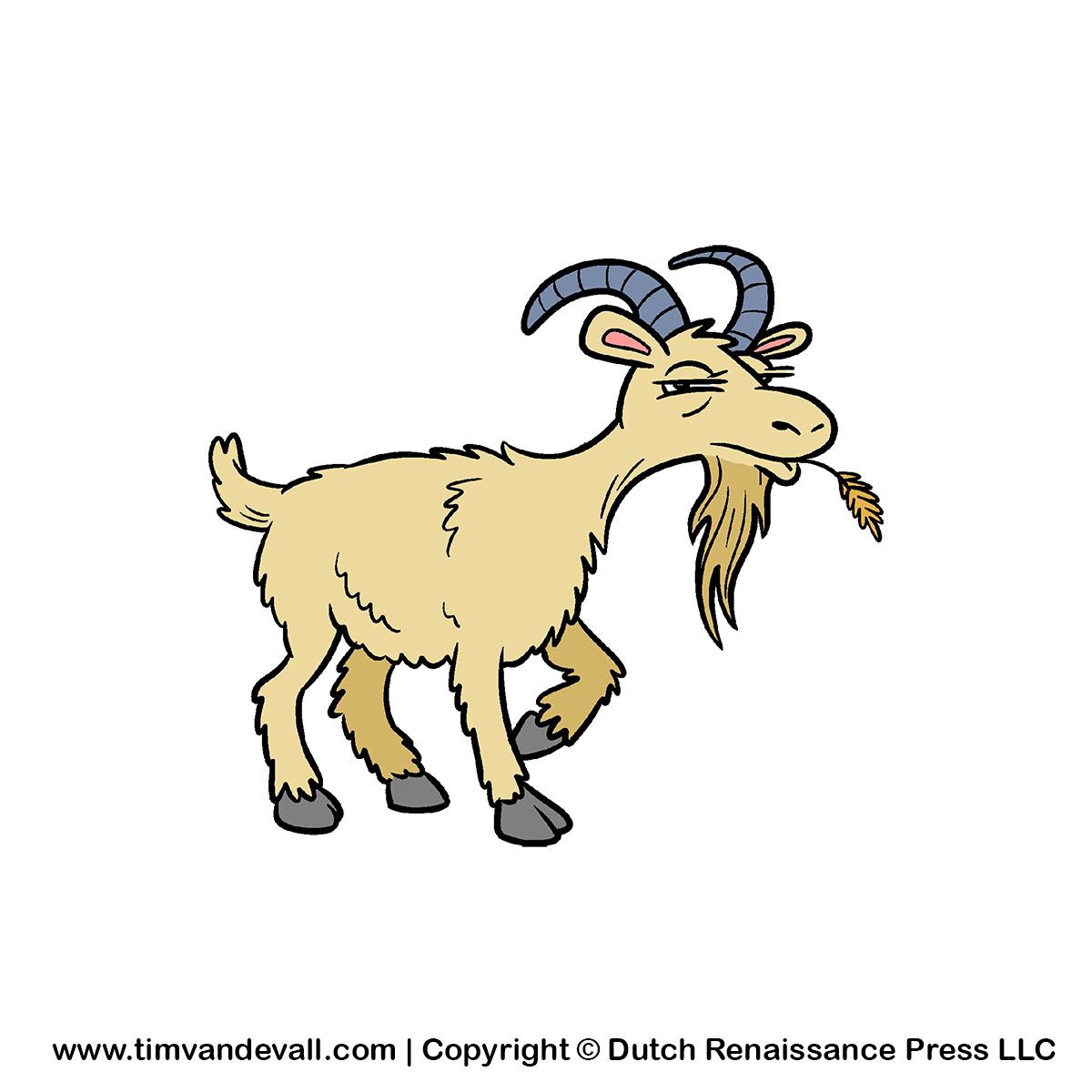 Free PNG Goat - 53107