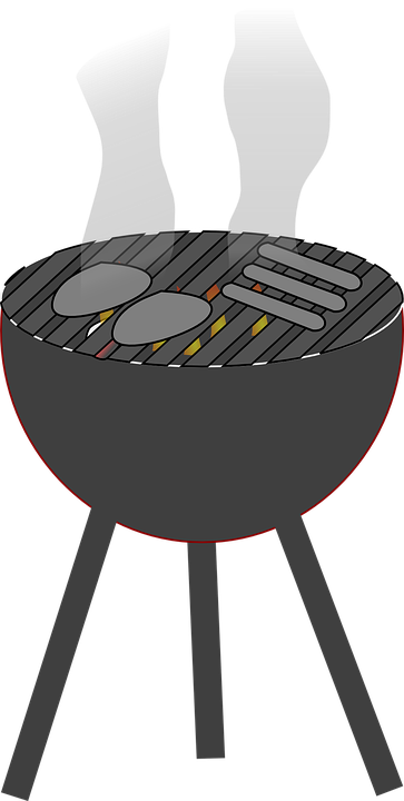 Barbecue, Grill, Charcoal, Fi