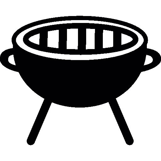 Barbecue grill free icon
