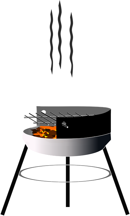 Charcoal Barbecue, Grid, Grill, Rust - Free PNG Grill