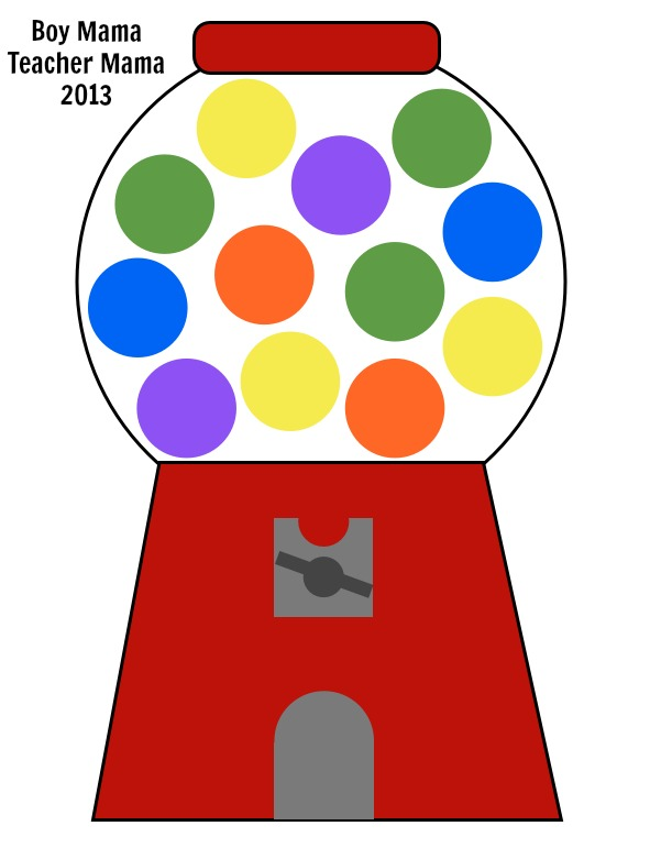 Bubble Gum Machine Clipart - Free PNG Gumball Machine
