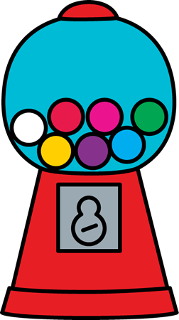 Gumball Machine Clip Art - Free PNG Gumball Machine