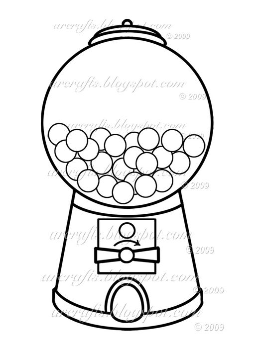 pin Gumball clipart bubble gum machine #1 - Free PNG Gumball Machine