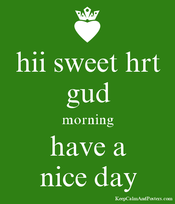 Free PNG Have A Nice Day - 65325