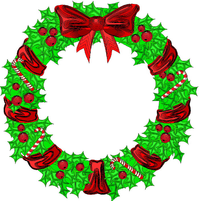 Free PNG HD Christmas Wreath - 126839