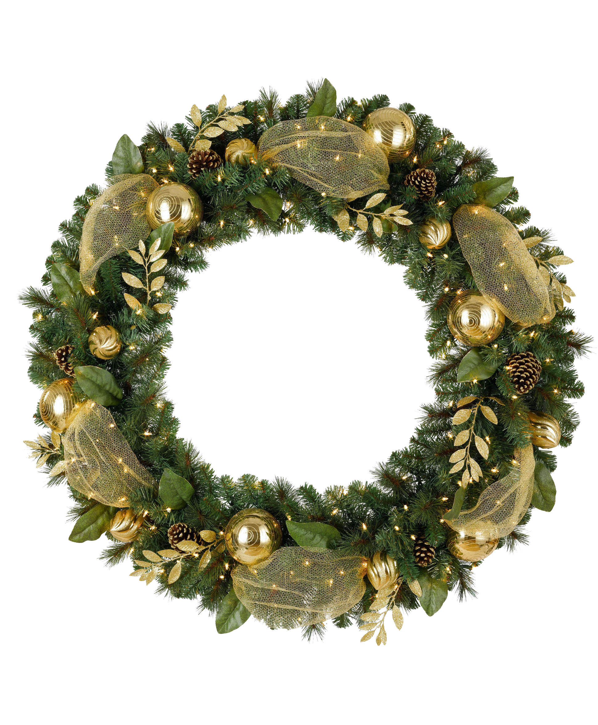 Free PNG HD Christmas Wreath - 126834