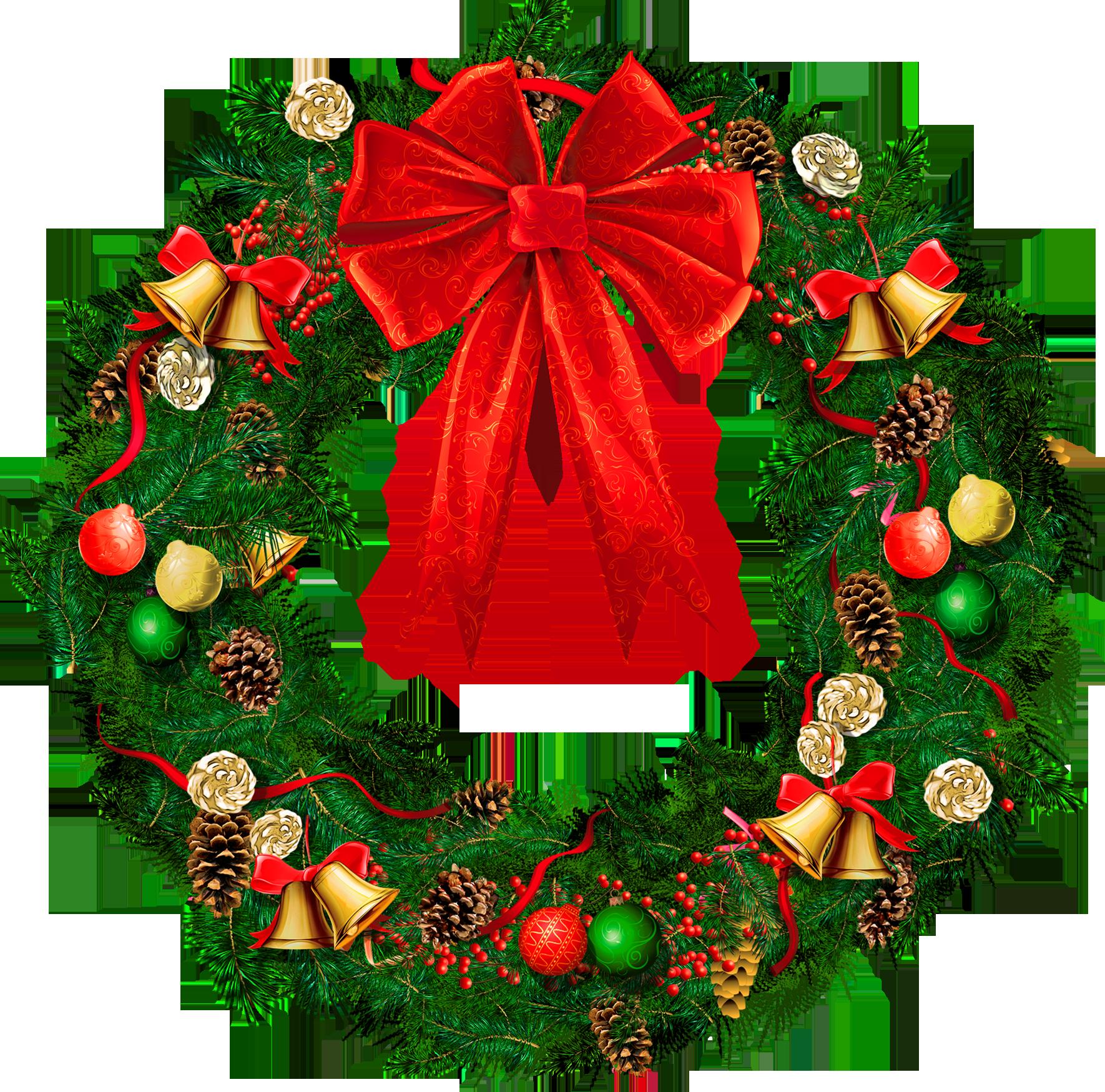 Free PNG HD Christmas Wreath - 126830