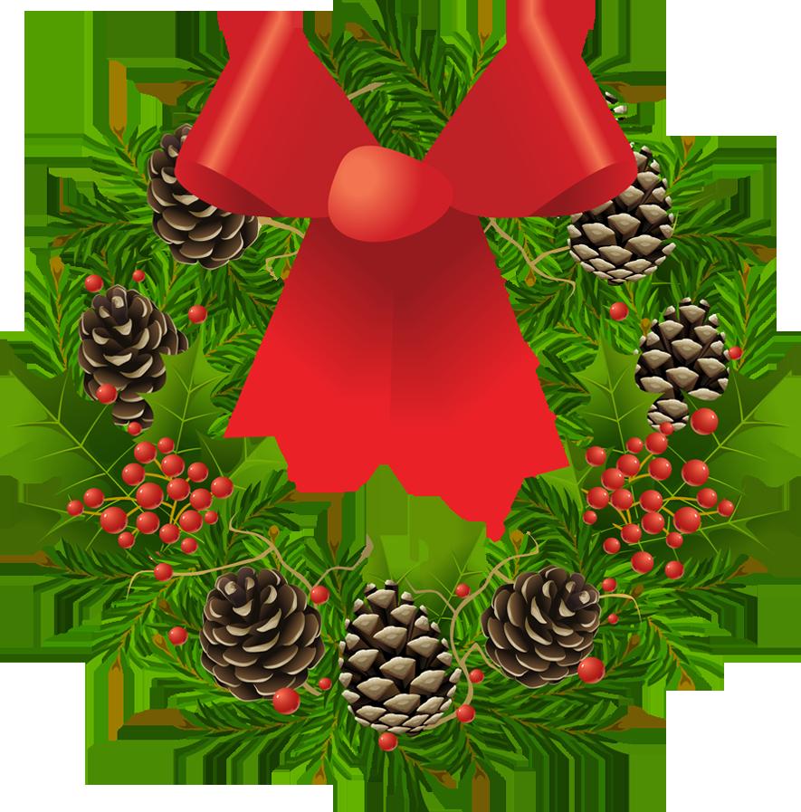 Free PNG HD Christmas Wreath - 126842