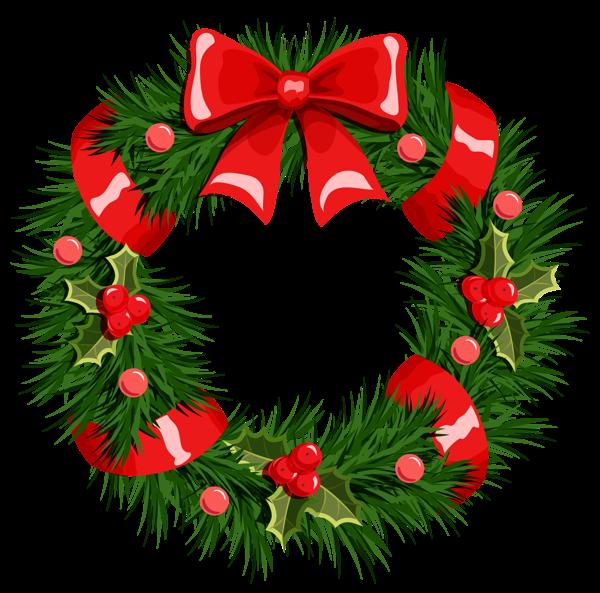 Free PNG HD Christmas Wreath - 126831