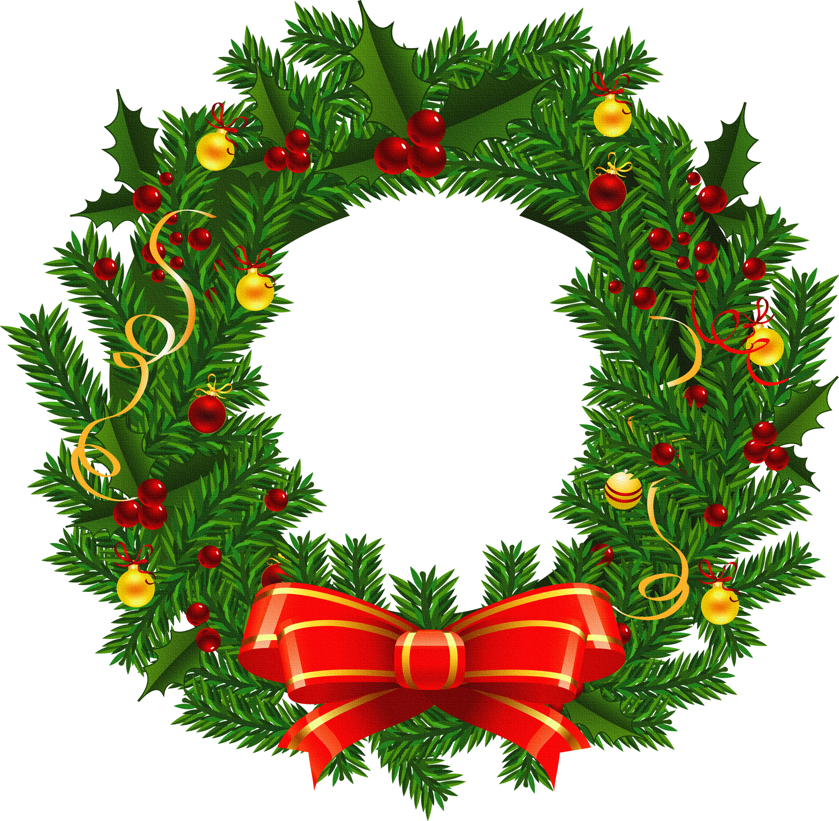 Xmas Stuff For Christmas Wreath Images Clip Art - Free PNG HD Christmas Wreath
