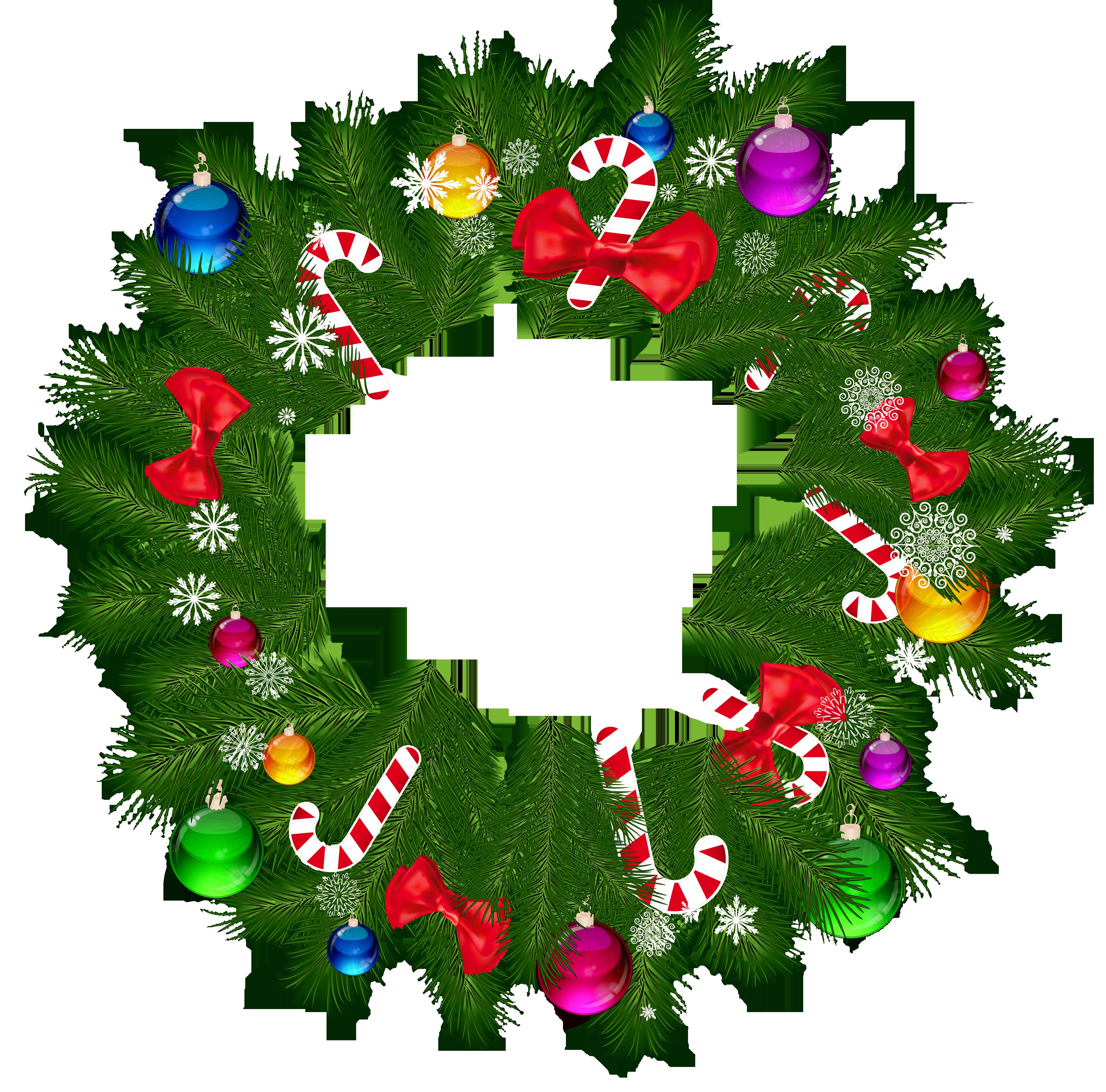 Xmas Stuff For Christmas Wreaths Clip Art - Free PNG HD Christmas Wreath