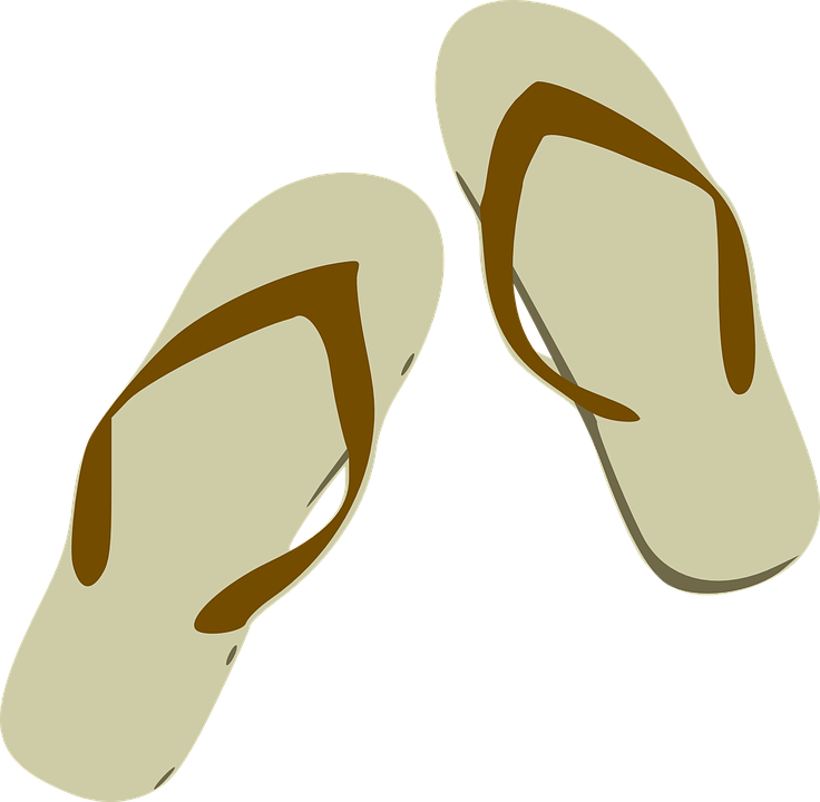 Flip Flops, Sandals, Footwear, Beach, Colorful, Rubber - Free PNG HD Flip Flops