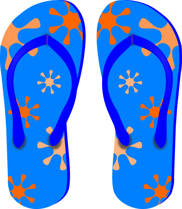 Thongs, Flip-Flops, Sandals, Shoues, Beach, Colorful - Free PNG HD Flip Flops