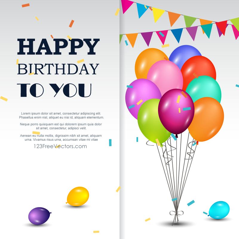 330 Happy Birthday Vector Art Vectors | Download Free Vector Art u0026 Graphics | 123Freevectors -