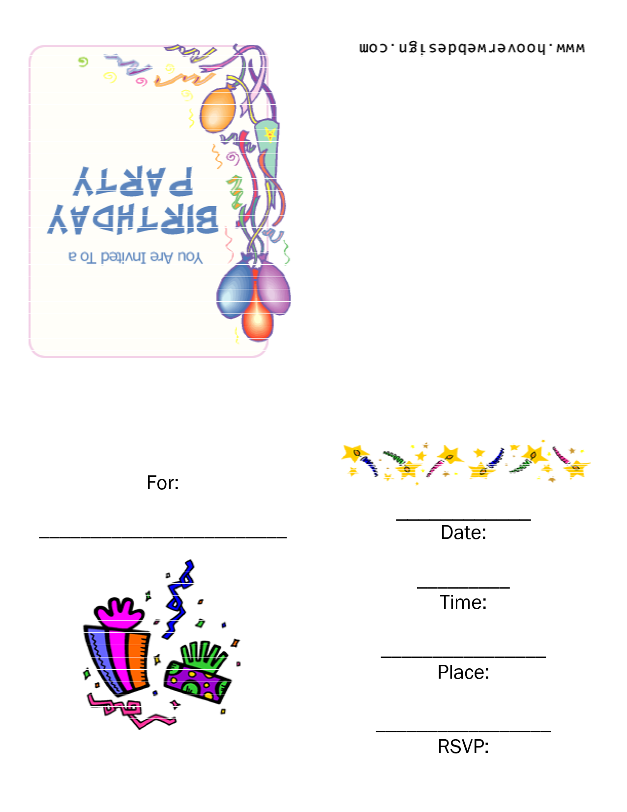Free PNG HD For Birthday Invitations Transparent HD For Birthday ...
