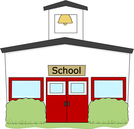 Clipart Info - PNG School Building - Free PNG HD For School Use
