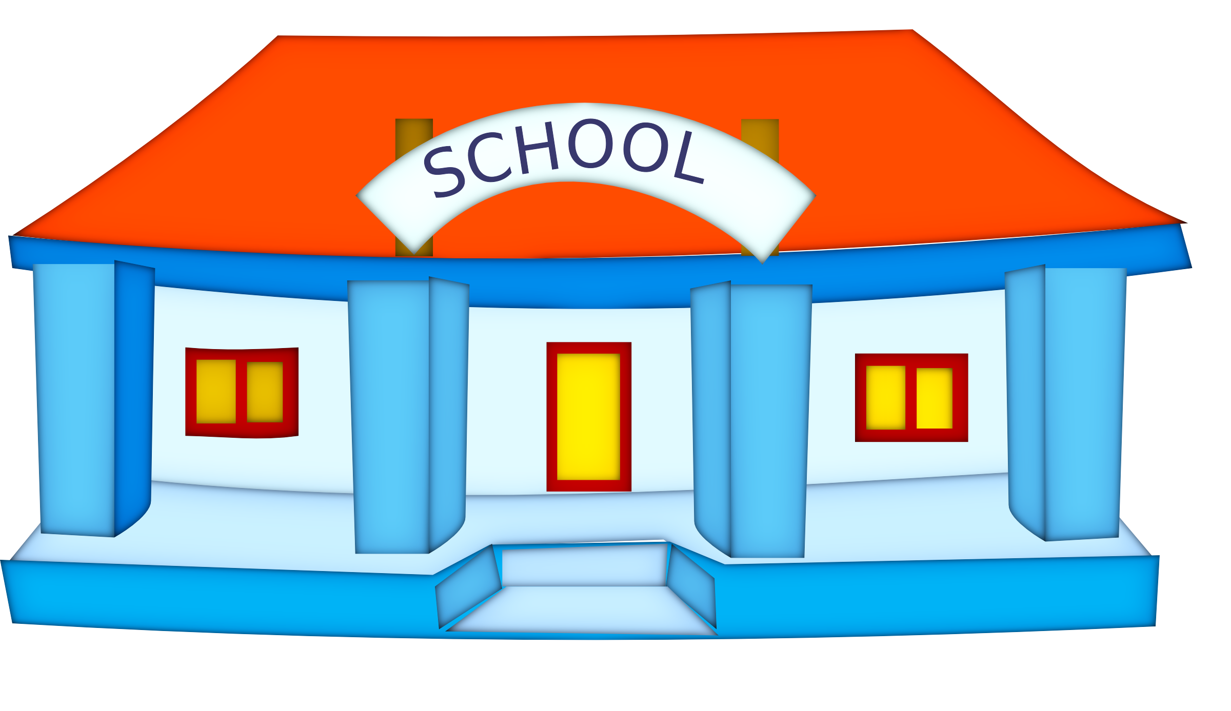 PNG High School Building - Free PNG HD For School Use
