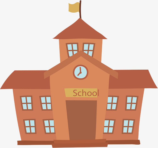 school building, Vector Png, Academic Building, School PNG and Vector - Free PNG HD For School Use