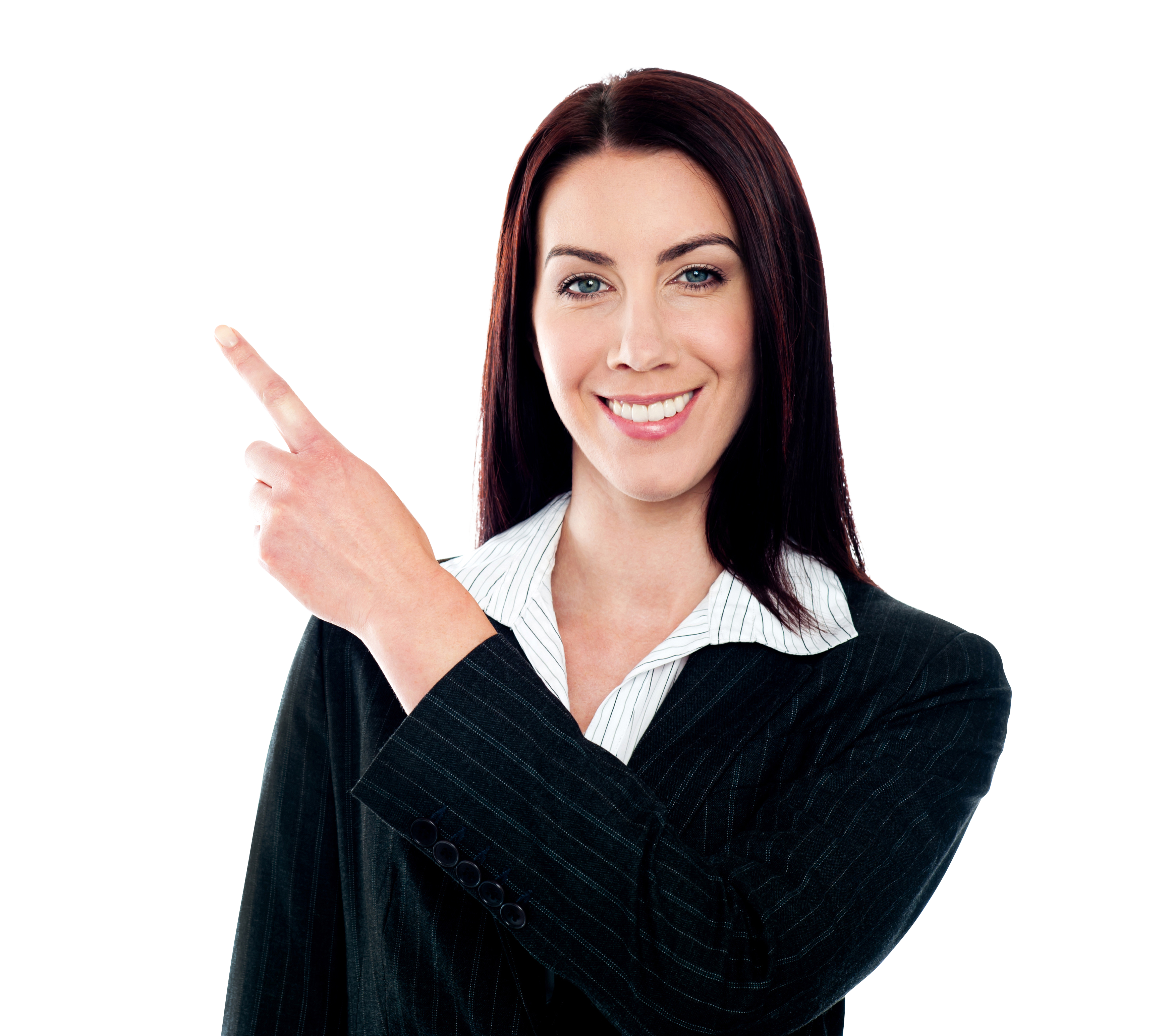 Women Pointing Left Free Commercial Use PNG Images - Free PNG HD Images For Commercial Use