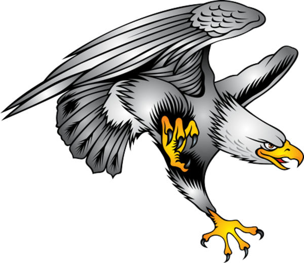 Eagle Tattoo Designs Clip Art PNG Image - Free PNG HD Of Eagles