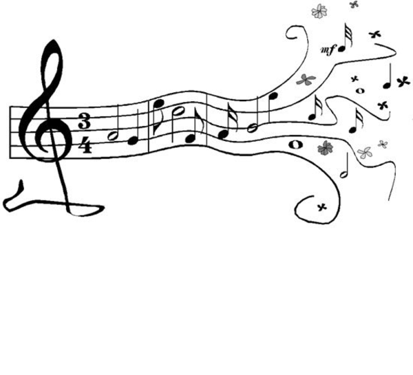 Download this image as: - Free PNG HD Of Music Notes
