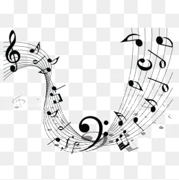 Musical Notes Free PNG Image