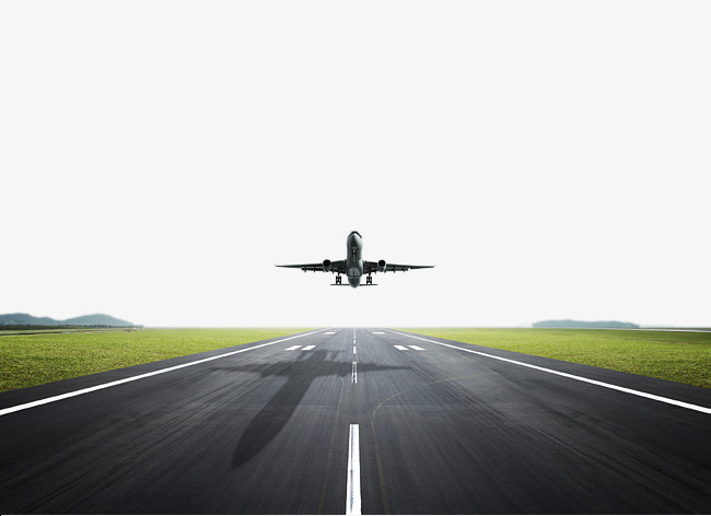 runway take off the plane hd picture, Grassland, Green Grass, Big Passenger  Plane - Free PNG HD Planes