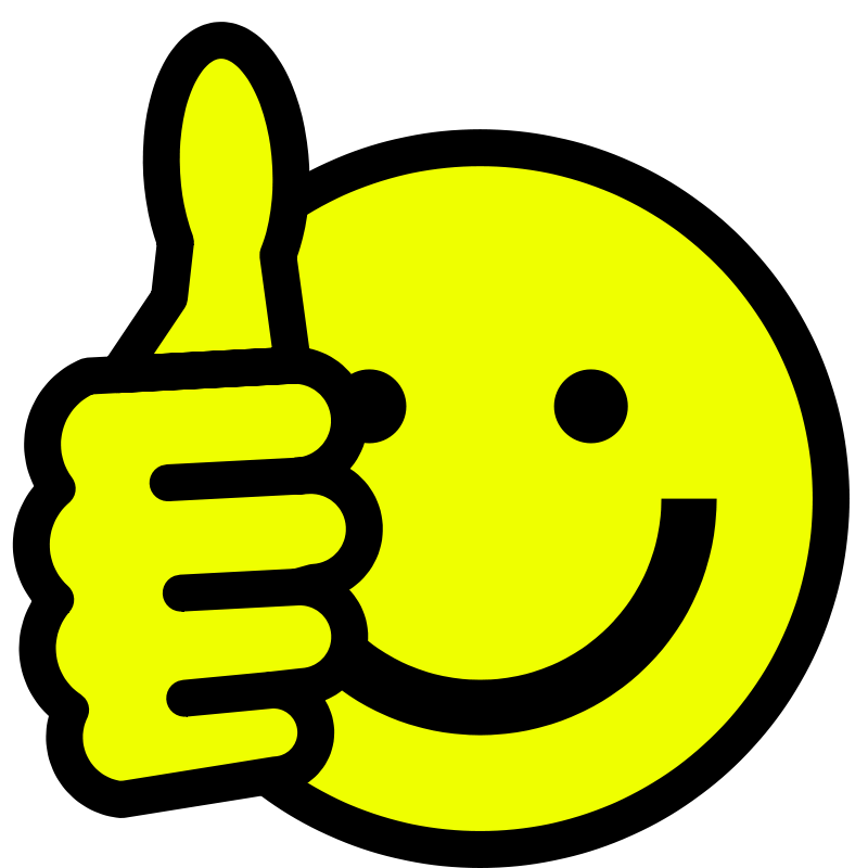 Free PNG HD Smiley Face Thumbs Up - 123400