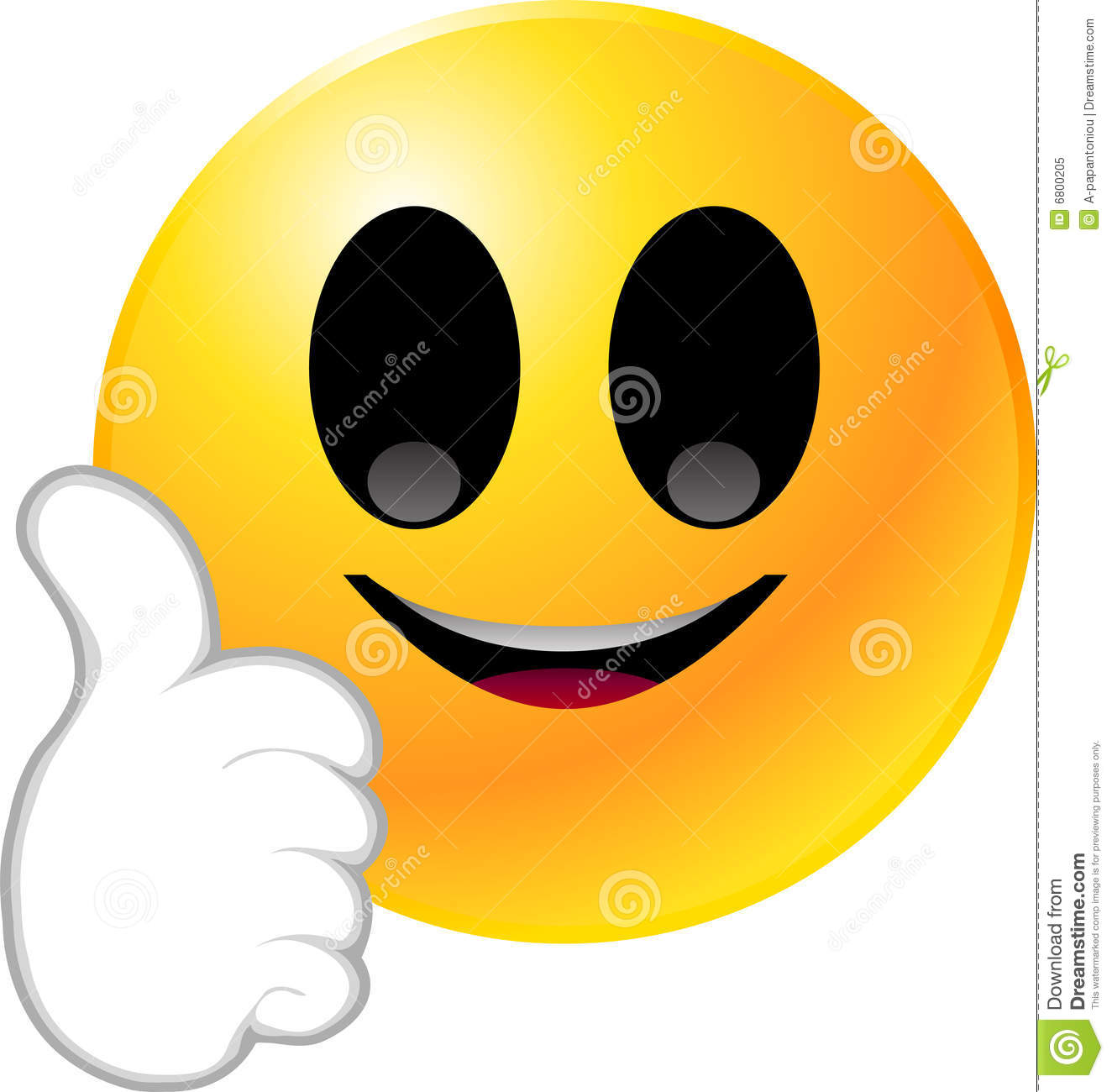 Free PNG HD Smiley Face Thumbs Up - 123395