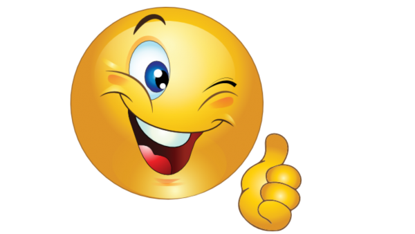 Smiley Face With Thumbs Up Cartoon - Weeklyimage Free Download HD - Free PNG HD Smiley Face Thumbs Up