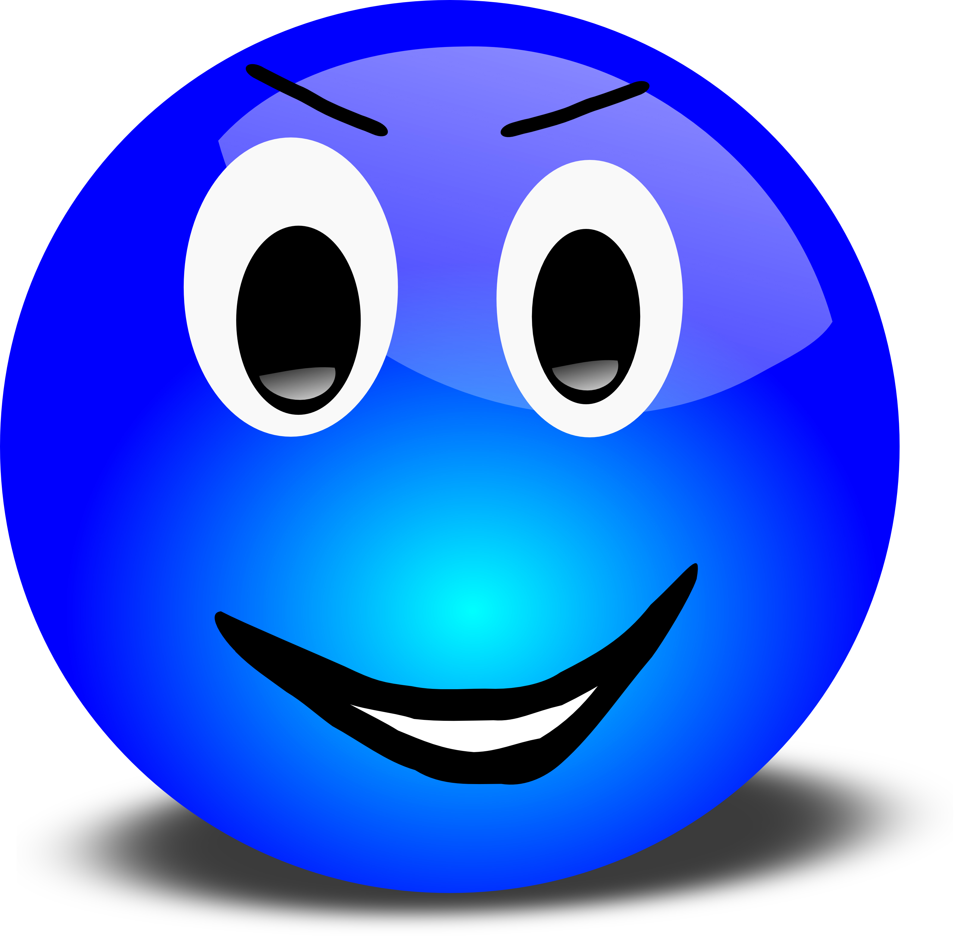 Free PNG HD Smiley Face Thumbs Up - 123397