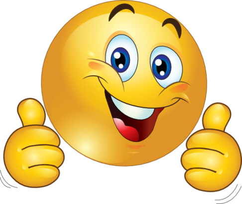 Free PNG HD Smiley Face Thumbs Up - 123387