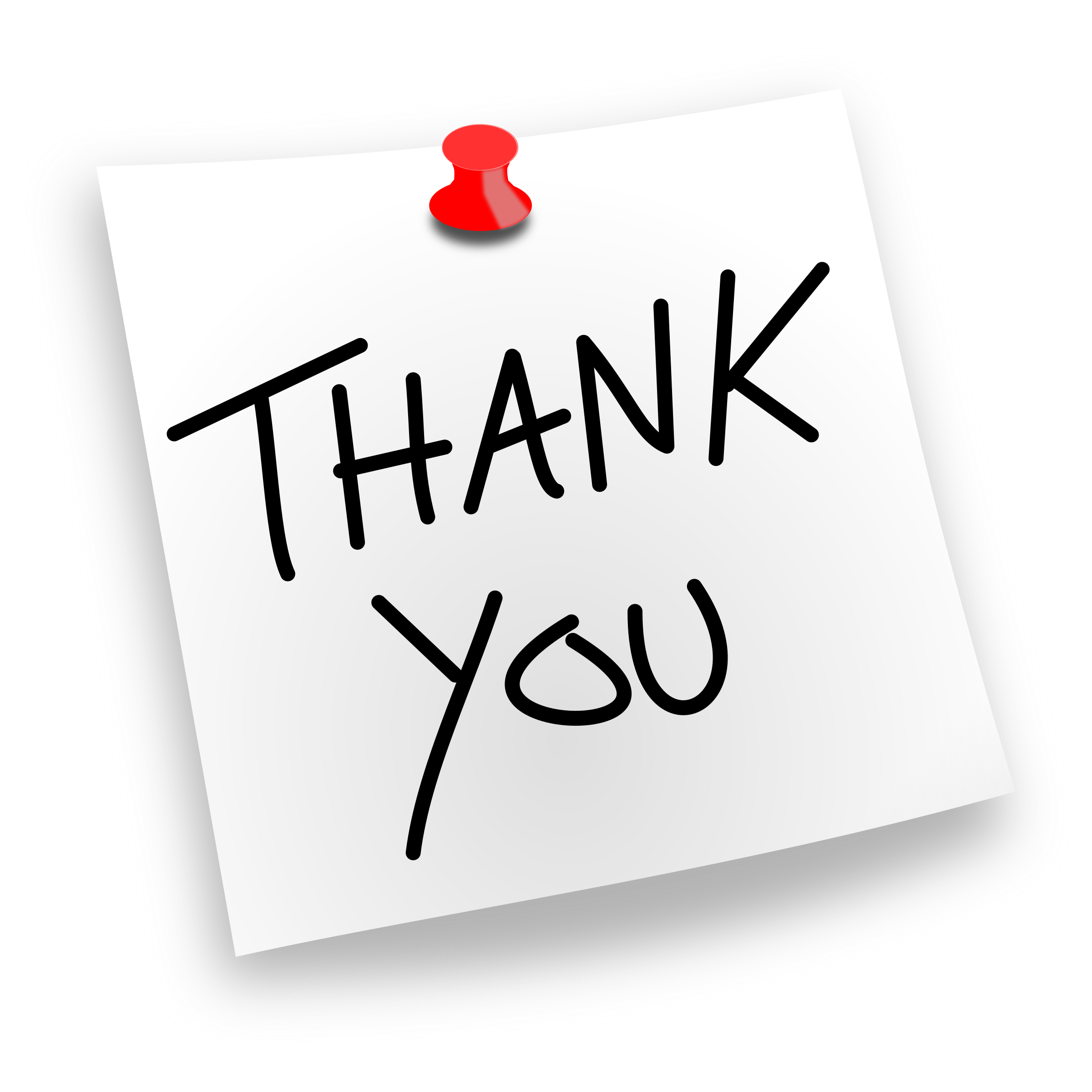 Free PNG HD Thank You - 120915