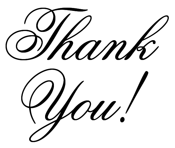 Thank You Images Clip Art - Free PNG HD Thank You